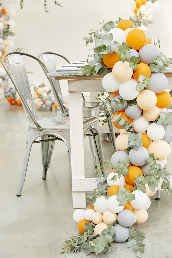 orange-gray-balloon-garland