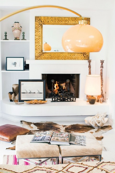 White Fireplaces My Winter Needs